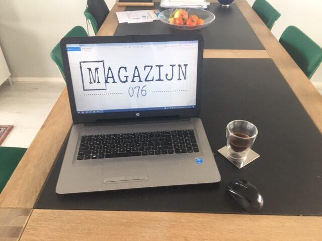Magazijn076 drinkt 'koffie op afstand'